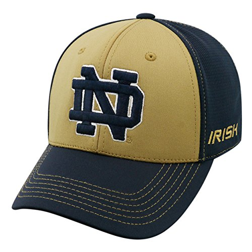 Top of the World NCAA-Dynamic-1-Fit-Memory Fit-Hat Cap Gr. Einheitsgröße (Medium/Large), Notre Dame Fighting Irish