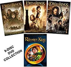 The Lord of the Rings Trilogy - Fellowship of the Ring / Two Towers / Return of the King (7-DVD W/Special Features) + The Return of the King Original Animated Classics