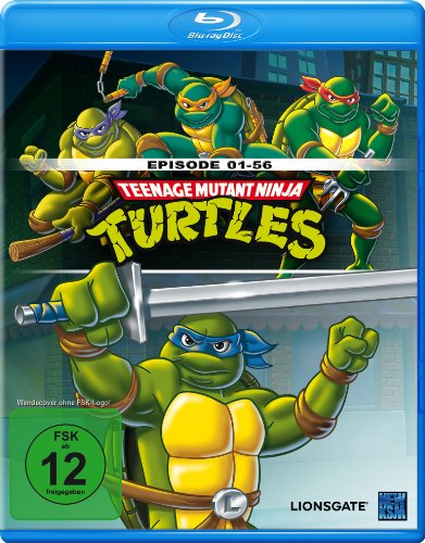 Teenage Mutant Ninja Turtles (Edition 1: Episode 01-56) [Blu-ray]