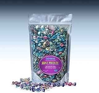 Glitterati MINT MEDLEY - Famous Miniature Hard Candies (400 Ct. Pouch)