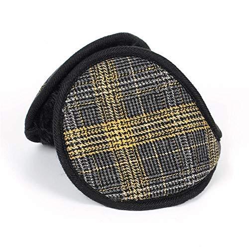 ZLININ Y-longhair verstellbare Ohrenwärmer Winter Plüsch Ohrenschützer Ohrenschützer Warm Ohrenschützer Ohr-Paket Unisex Warm Wolle Ohr-Ohr-Ohr-Ohr-Abdeckung Winter Sets (Farbe: gelb)