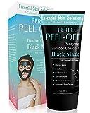 Charcoal Peel Off Face Mask - Blackhead Remover -...