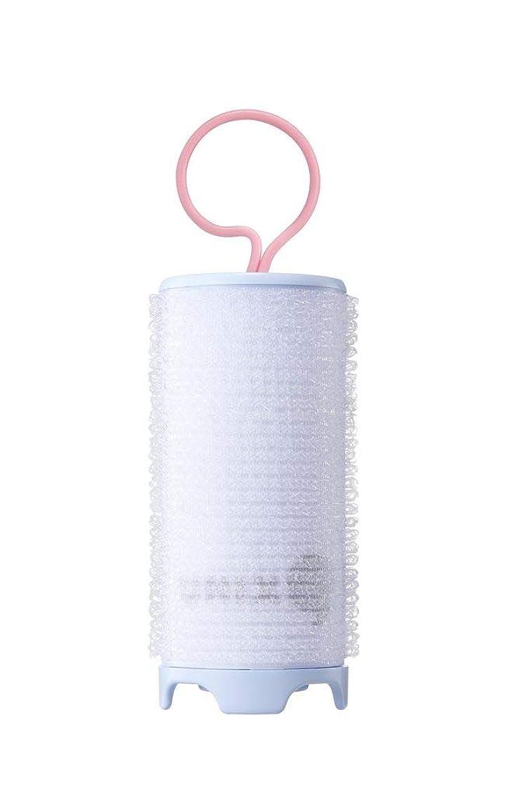 ベンチ吹雪マーカーUNIX,PW-5382TW ホットカーラー USB 加熱 巻き髪 持ち運び便利 携帯用 旅行 留学 38mm (ブルー)