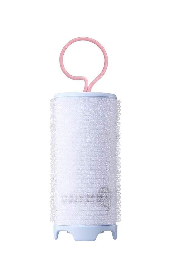 トロイの木馬アルネ足音UNIX,PW-5382TW ホットカーラー USB 加熱 巻き髪 持ち運び便利 携帯用 旅行 留学 38mm (ブルー)