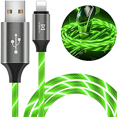 6.5ft Light Up Visible Flowing Charger Charging Cord