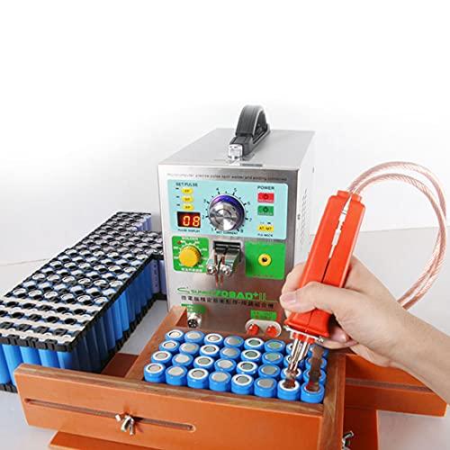 XYEJL Soldador De Puntos De Baterías Muntifuncional 3.2kw,Soldadura De Pulsos Portátil,con Función De Soldar Pluma Móvil,para Baterías De Litio 18650,110V