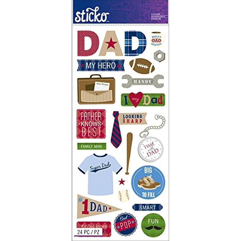 Sticko Dad Stickers