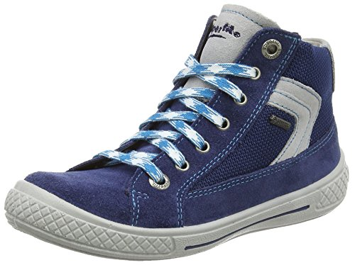 Superfit Jungen Tensy Surround High-Top, Blau (Indigo Kombi 88), 28 EU