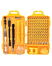 110 in 1 Sets Precision Multi Purpose Screwdriver Set Repair Tools With Carry Case For Cell Phone Disassemble, Laptops, Watch, Glasses & Electrical Tools