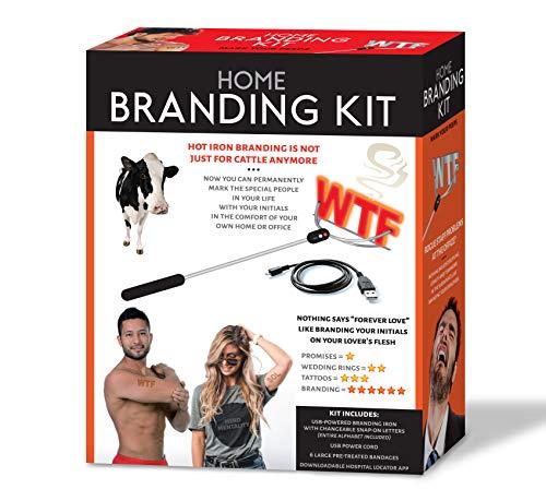 Maad Home Branding Kit Prank Gift Box - Perfect Gag, Anniversary Presents, or White Elephant