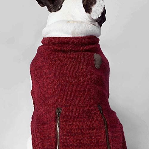 Canada Pooch Northern Knit Pullover Rot XL - 4