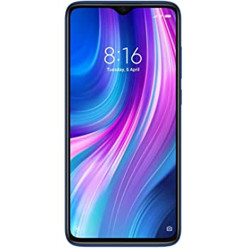 Redmi Note 8 Pro (Electric Blue, 6GB RAM, 128GB Storage with Helio G90T Processor) - Upto 12 Months No Cost EMI