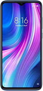 Redmi Note 8 Pro (Electric Blue, 6GB RAM, 128GB Storage with Helio G90T Processor) - Extra 2,000 Off on Exchange & 6 Months No Cost EMI