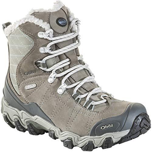 Oboz Bridger 7' Insulated B-Dry Hiking Boot - Women's Gray/Sage 11