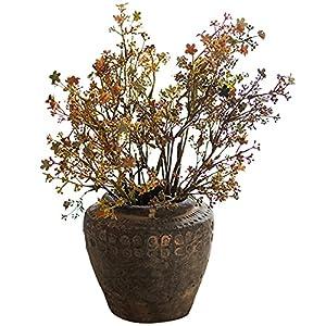 """Silk Flower Arrangements LHHH Realistic Faux Plants 6 PCS 23"""" Artificial Iris Flower Plant 59cm Artistic Floral Flowers Dried Flowers for Wedding Decor and Table Centerpieces"""