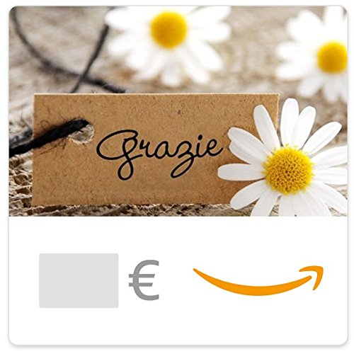 Buono Regalo Amazon.it - Digitale - Grazie (margherita)