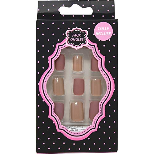 24 faux ongles\
