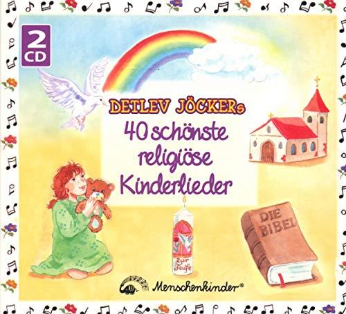 Detlev Jöckers 40 schönste religiöse Kinderlieder: Doppel-CD