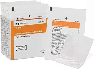 Telfa 7662 Antimicrobial Non-Adherent Pad. Pack of 50