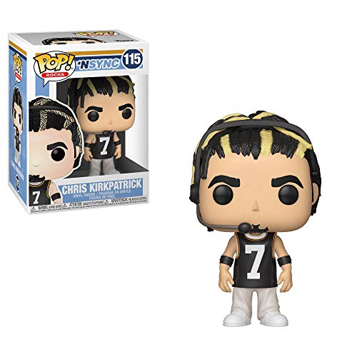 Funko Rocks: Pop! NSYNC Collectors Set - Justin Timberlake, JC Chasez, Joey Fatone, Lance Bass, Chris Kirkpatrick