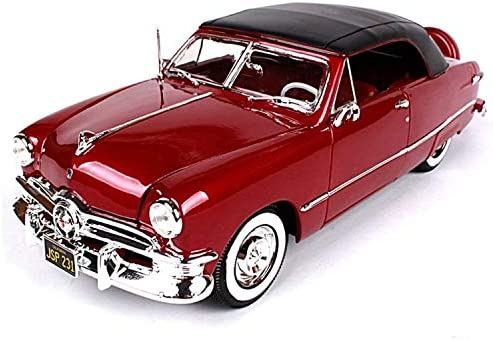 Maisto 31681brn 1950 毎週更新 Ford Convertible Brown 1- Top Bronze Soft 2020A/W新作送料無料