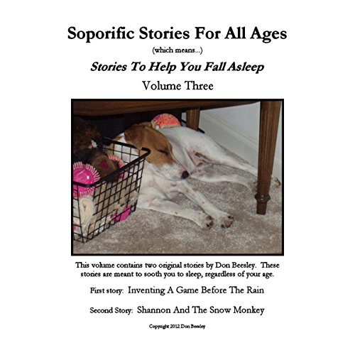 Soporific Stories for All Ages, Volume 3 audiobook cover art