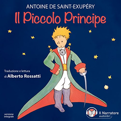 Il Piccolo Principe audiobook cover art