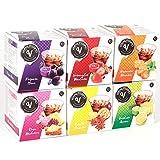 Capsulas Zumo de Frutas para Vermut Cocktail Capsula Coctail Fruta Combinados (MULTISABOR,Pack de 6 cajas)