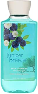 Bath & Body Works Juniper Breeze Shower Gel, Blue, 10 Ounce