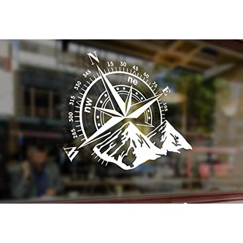 25cm Rose Windrose Rose of the Winds Vinyl Stickers Decal Car Auto Laptop Glass
