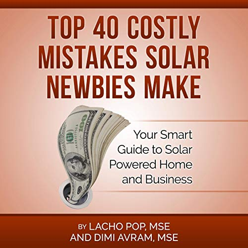 Top 40 Costly Mistakes Solar Newbies Make audiobook cover art