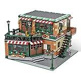 Bulokeliner Modelo de bloques de construcción Street View MOC-54894 de Kim Artisan, casa de café y pub, 2258 piezas de arquitectura compatible con Lego