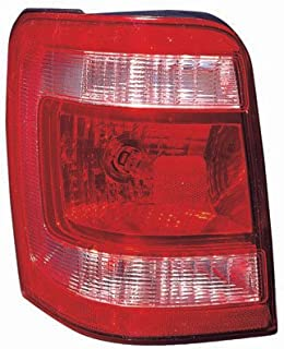 Fits Ford Escape/Escape Hybrid 2008-2012 Tail Light Assembly Unit Driver Side (CAPA Certified) FO2800210C