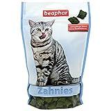 beaphar Zahnies für Katzen | Knusprige Katzen Leckerlies | Fördert die Zahnhygiene | Ohne Zuckerzusatz | 3-er Pack(3x150 g)
