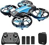 4DRC V8 Mini Drone per Bambini, Quadricottero RC con Telecomando, Funzione Hovering, modalità Senza Testa, 3D Flip, Decollo/Atterraggio a Un Tasto, velocità Regolabile, Adatto ai Principianti