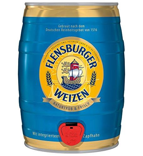 Flensburger Partyfass Weizenbier (1 x 5 l)