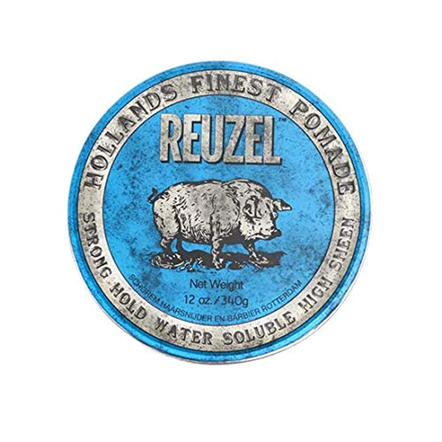 溢れんばかりの熟達した慎重にルーゾー(REUZEL) ストロングホールド ブルー HIGH SHINE 340g