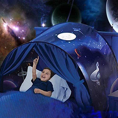 LTJY TV Outlet Sleep Fun Tent Original Visto en TV Tienda de campaña para la habitación Carpa Infantil Plegable y con Luz Juguete para niños,E