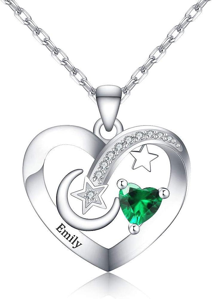 Corissy Custom Love メーカー再生品 Heart Pendant with Zirconi 商い 5A Necklace Cubic
