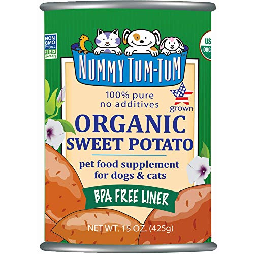Top 10 best selling list for nummy tum tum pure sweet potato canned supplement for dogs