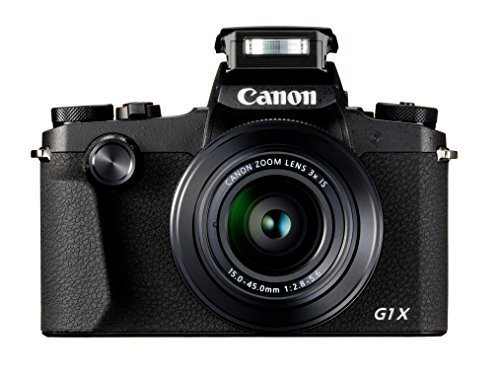 Canon PowerShot G1 X Mark III Juego de cámara SLR 24,2 MP 6000 x 4000 Pixeles Negro - Cámara Digital (24,2 MP, 6000 x 4000 Pixeles, 3X, Full HD, Pantalla táctil, Negro)