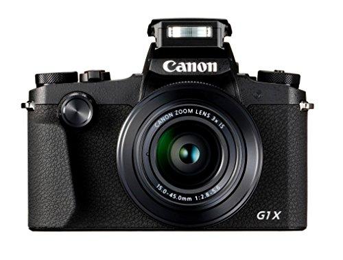 Canon PowerShot G1 X Mark III Juego de cámara SLR 24,2 MP 6000 x 4000 Pixeles Negro -...