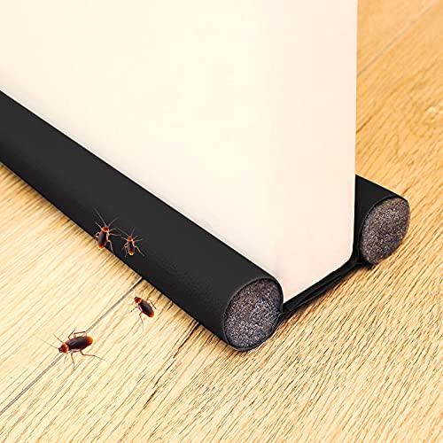 Faffooz Burlete Para Puertas Tope Aislante Para La Puerta Se utiliza en Dormitorios, Cocinas y Baños para Prevenir Eficazmente el Polvo, Los Insectos, el Viento y el Aislamiento Acústico.