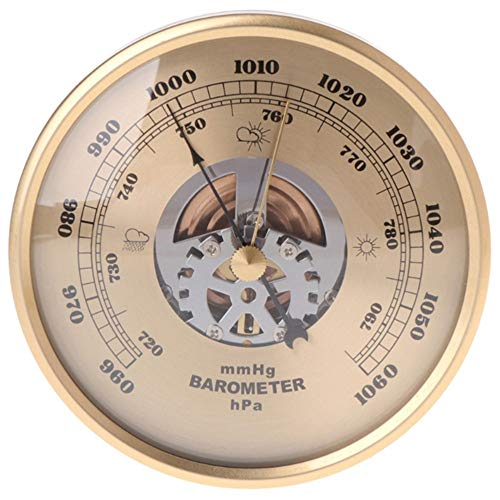 KSUVR Barometer meteorologisches Messwerkzeug Home Indoor Wettervorhersage meteorologische Station Multifunktionsbarometer