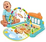 eErlik Kick and Play Musical Keyboard Piano Baby Mat Gym and Fitness Rack