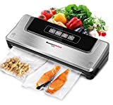 Bonsenkitchen Vacuum Food Sealer Machine for Sous Vide Cooking and Food Saver|Dry