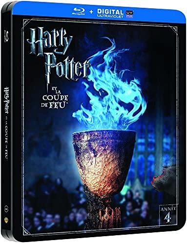Harry Potter et la Coupe de Feu - Edition limitée Steelbook - Année 4 - Le monde des Sorciers de J.K. Rowling - Blu-ray [Édition Limitée boîtier SteelBook]