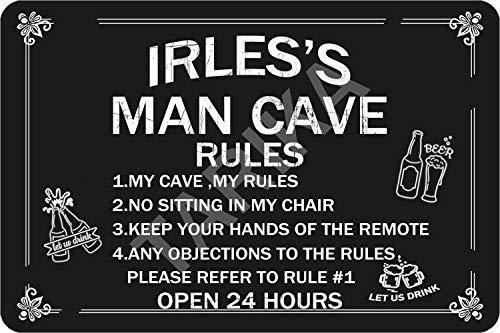 Tarika Irles's Man Cave Open 24 Hours Eisen Poster Vintage Gemälde Zinn Zeichen für Straße Garage Home Cafe Bar Mann Höhle Farm Wanddekoration Handwerk