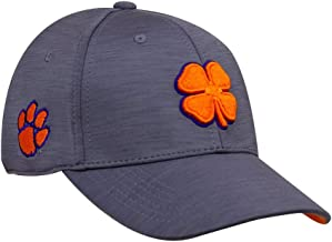Black Clover Clemson Dynamic Heather Fitted Hat