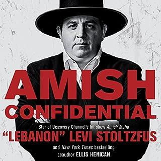 Amish Confidential audiobook cover art